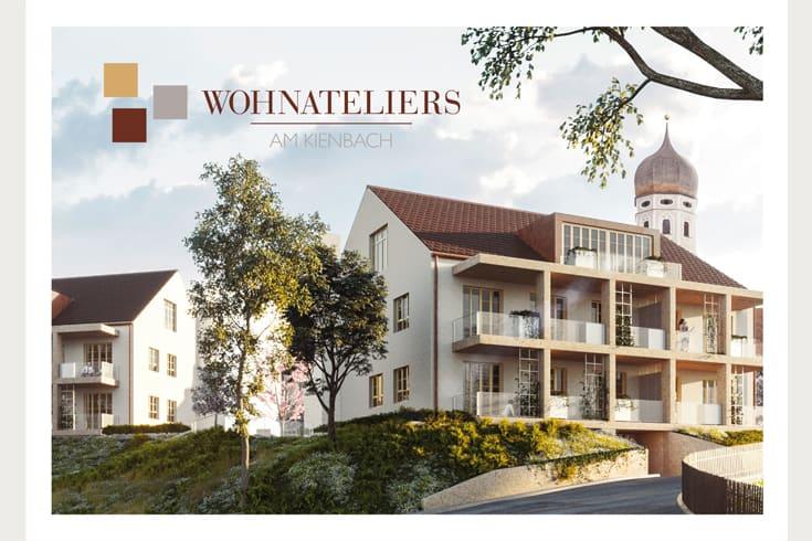 "Kundenbroschüre ""Wohnateliers am Kienbach"": Cover"