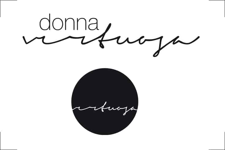 Logodesign donna virtuosa, Bloggerin
