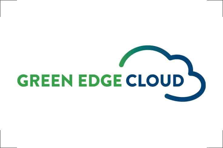 Logodesign Green edge cloud