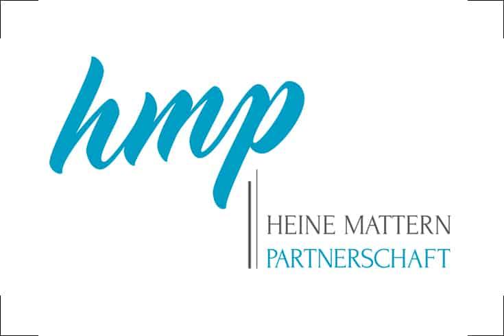 Logodesign hmp Heine Mattern Partnerschaft