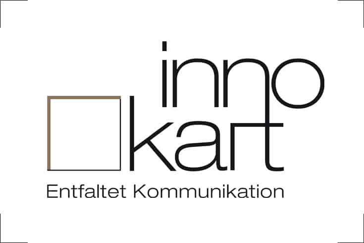 Logodesign innokart | Design aus Karton und Papier