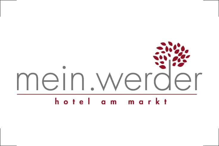 Logodesign mein.werder, Hotel am Markt