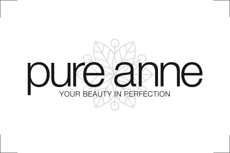 Logodesign pure anne, Beautysalon