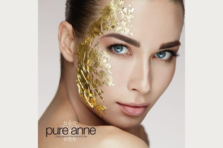 Schönheitssalon pure anne Kundenbroschüre: Cover